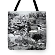 General View Of The Holy Road Tote Bag