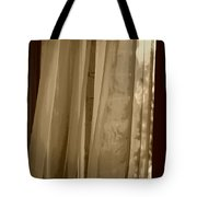 Gentle Breeze In Sepia Tote Bag