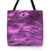 Gentle Giant In Negative Pink Tote Bag