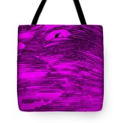 Gentle Giant In Negative Purple Tote Bag