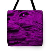 Gentle Giant In Purple Tote Bag