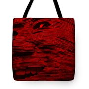 Gentle Giant In Red Tote Bag