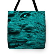 Gentle Giant In Turquois Tote Bag
