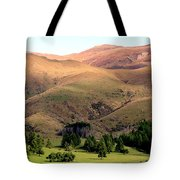 Gentle Rolling Hills Tote Bag