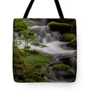 Gently Falling Tote Bag