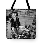 Genuine Palmistry And Tarot Black And White Tote Bag