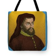 Geoffrey Chaucer, Father Of English Tote Bag