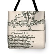Geoffrey Chaucers, Canterbury Tales Tote Bag