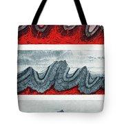 Geologic Crumpling Tote Bag