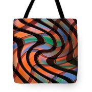 Geometrical Colors And Shapes 2 Tote Bag