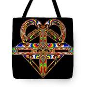 Geometry Mask Tote Bag