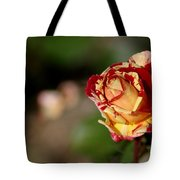 George Burns Rose Tote Bag