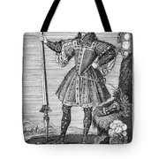 George Cumberland (1558-1605). George De Clifford Cumberland. 3rd Earl Of Cumberland. English Naval Commander And Courtier. Line Engraving, English, Early 19th Century Tote Bag