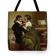 George Herbert And His Mother Tote Bag