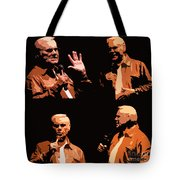 George Jones Concert Collage Tote Bag