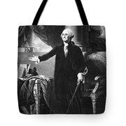 George Washington, 1st American Tote Bag by Omikron