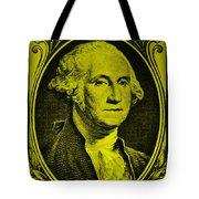 George Washington In Yellow Tote Bag