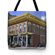 Georgetown Colorado On Canvas Tote Bag