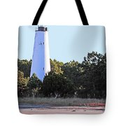 Georgetown Light Winyah Bay Sc Tote Bag