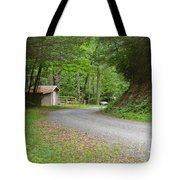 Georgia Mountain Road Tote Bag