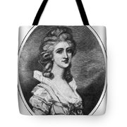 Georgiana Shipley (1752-1806) Tote Bag