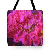 Geranium Pop Tote Bag