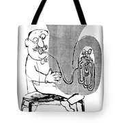 Gerard Hoffnung (1925-1959) Tote Bag by Granger