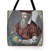 Gerardus Mercator, Flemish Cartographer Tote Bag