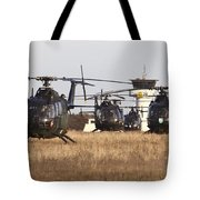 German Army Bo-105 Helicopters, Stendal Tote Bag