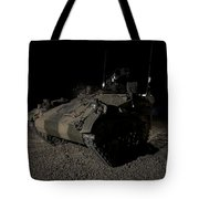 German Army Crew In A Wiesel 1 Atm Tow Tote Bag