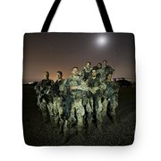 German Army Crew Poses Tote Bag