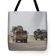 German Army Man 7t Mil Gl 6x6 Pritsche Tote Bag