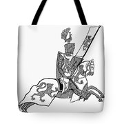 German Knight Tote Bag
