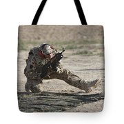 German Soldier Armed With An Akm Tote Bag