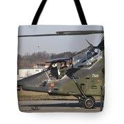 German Tiger Eurocopter At Fritzlar Tote Bag
