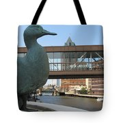Gertie The Duck Tote Bag