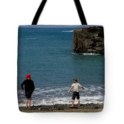 Get Your Feet Wet Tote Bag