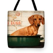 Get Your Hot Dogs Tote Bag