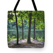 Getting To The Point Tote Bag
