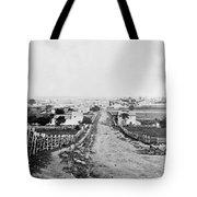 Gettysburg Battlefield - Vintage C 1870 Tote Bag
