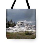 Geyser In Yellowstone Tote Bag