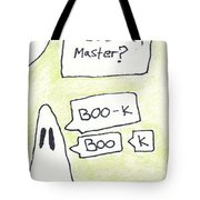 Ghost Bookmark Tote Bag