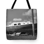 Ghost Crab Boat Tote Bag