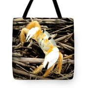 Ghost Crab Tote Bag