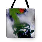 Ghost Flower Tote Bag