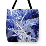 Ghost Leaves Tote Bag