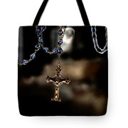 Ghost Of A Rosary Tote Bag