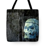 Ghost Skull Tote Bag
