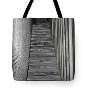 Ghost Town Stairs Bodie California Tote Bag