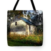 Ghosting Weeds Tote Bag